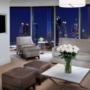 Luxury Dubai Holiday Packages The Address Boulevard Dubai Grand Downtown Suite