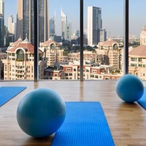 Luxury Dubai Holiday Packages The Address Boulevard Dubai Gym