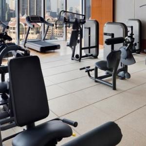 Luxury Dubai Holiday Packages The Address Boulevard Dubai Gym 2