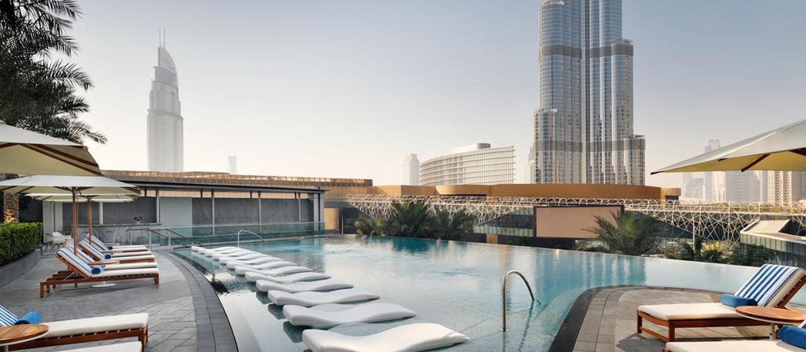 Luxury Dubai Holiday Packages The Address Boulevard Dubai Header