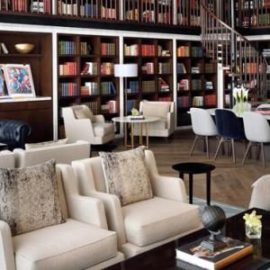 Luxury Dubai Holiday Packages The Address Boulevard Dubai Library 2