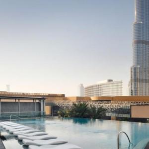 Luxury Dubai Holiday Packages The Address Boulevard Dubai Pool