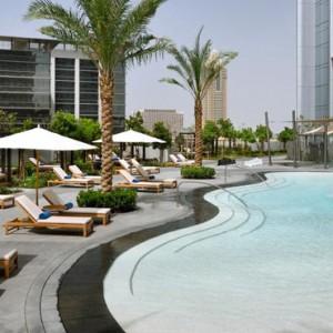 Luxury Dubai Holiday Packages The Address Boulevard Dubai Pool 2