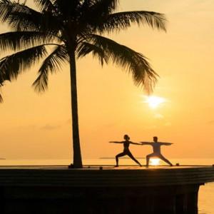 Luxury Maldives Holiday Packages Dhigali Maldives Yoga