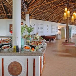 Luxury Zanzibar Holiday Packages Bluebay Beach Resort And Spa Makuti Restaurant