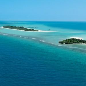 Luxury Maldives holiday packages - Kanuhura Maldives - islands