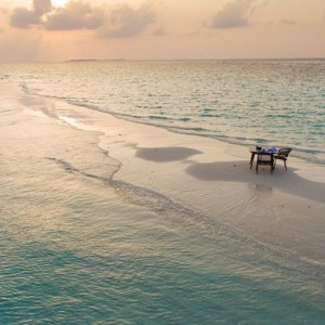 Sandbank 2 Dhigali Maldives Luxury Maldives Honeymoon Packages