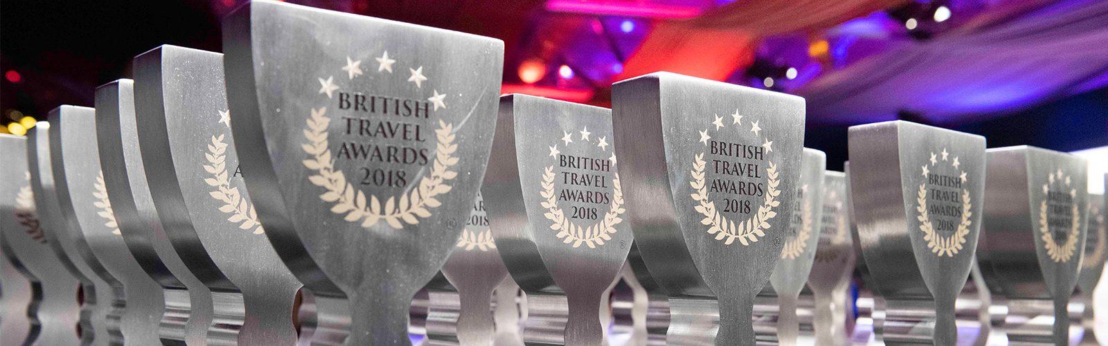 British Travel Awards 2018 Award Winning Travel Agency In Birmingham Header