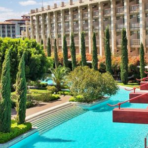 Luxury Turkey Family Holiday Packages Gloria Serenity Resort Turkey Exterior3
