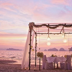 Luxury Thailand Holiday Packages Tubaak Resort Krabi Sunset 2