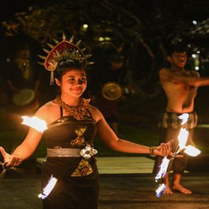 Bali holiday Packages The Laguna Bali Fire Dancers