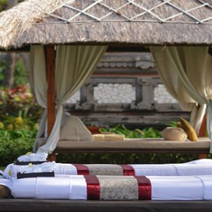 Bali holiday Packages The Laguna Bali Spa Massage Outdoors