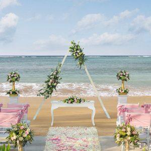 Bali holiday Packages The Laguna Bali Wedding Setup