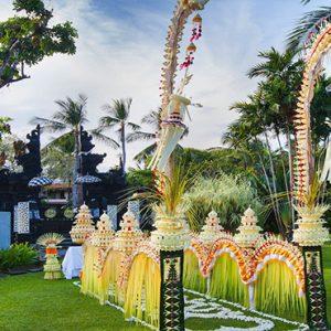 Bali holiday Packages The Laguna Bali Wedding Setup3