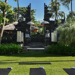 Bali holiday Packages The Laguna Bali Yoga At Garden Temple