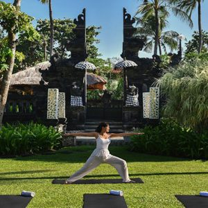 Bali holiday Packages The Laguna Bali Yoga At Garden Temple1