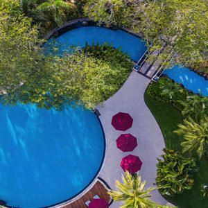 Bali holiday Packages The Laguna Bali Aerial View