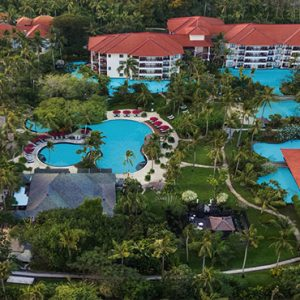 Bali holiday Packages The Laguna Bali Aerial View1