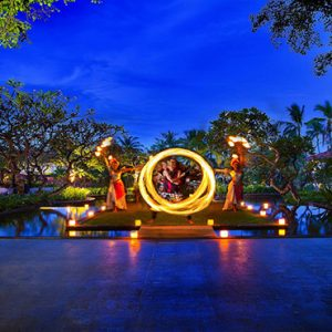 Bali holiday Packages The Laguna Bali Fire Dancers1