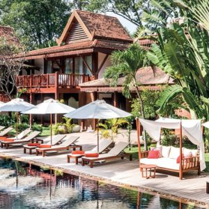 Luxury Cambodia Holiday Packages Belmond La Residence Dangkor Pool 2