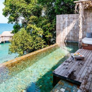 Luxury Cambodia Holiday Packages Song Saa Private Island Resort Cambodia One Bedroom Jungle Villa