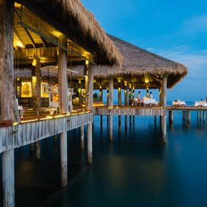 Luxury Cambodia Holiday Packages Song Saa Private Island Resort Cambodia Vista Bar And Restaurant