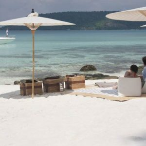 Luxury Cambodia Holiday Packages Song Saa Private Island Resort Cambodia Beach 2