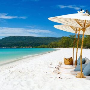 Luxury Cambodia Holiday Packages Song Saa Private Island Resort Cambodia Beach 3