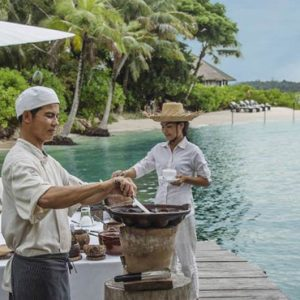 Luxury Cambodia Holiday Packages Song Saa Private Island Resort Cambodia Dining 6