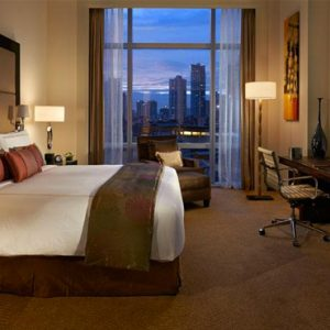 Luxury Philippines Holiday Packages Fairmont Makati Fairmont Gold Corner Suite