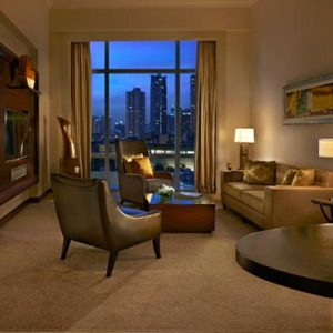 Luxury Philippines Holiday Packages Fairmont Makati Fairmont Gold Corner Suite 2