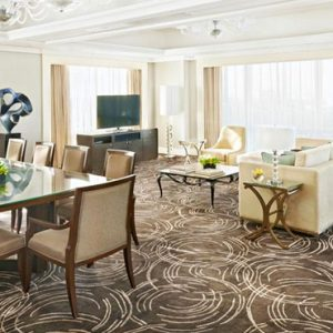 Luxury Philippines Holiday Packages Fairmont Makati Presidential Suite