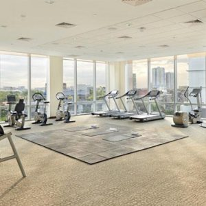 Luxury Philippines Holiday Packages Fairmont Makati Gym