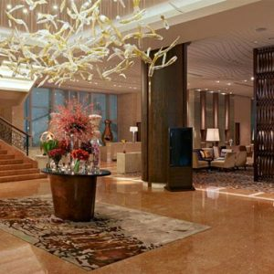 Luxury Philippines Holiday Packages Fairmont Makati Lobby