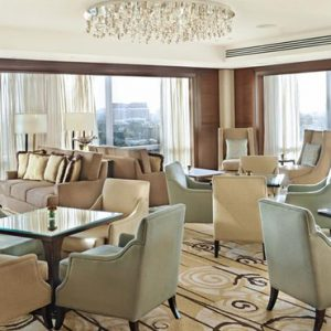 Luxury Philippines Holiday Packages Fairmont Makati Lounge