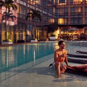 Luxury Philippines Holiday Packages Fairmont Makati Pool 2