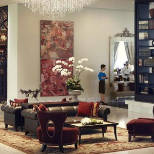 Luxury Philippines Holiday Packages Raffles Makati Philippines Lobby