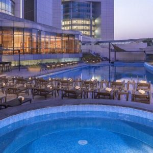 Dubai holiday Packages Jumeirah Emirates Towers Pool 2