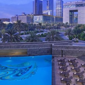 Dubai holiday Packages Jumeirah Emirates Towers Pool 4
