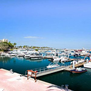 JA Palm Tree Court Dubai holiday Packages Private Marina