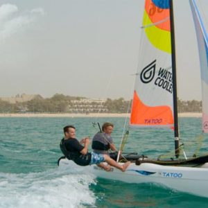 JA Palm Tree Court Dubai holiday Packages Yacht Surfing
