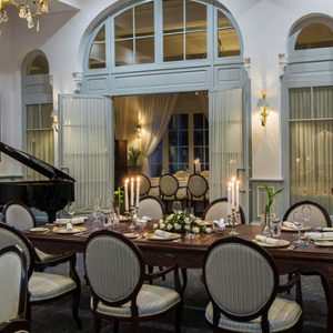 Luxury Cambodia Holiday Packages Raffles Hotel Le Royal Dining