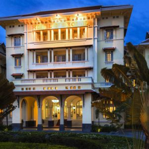 Luxury Cambodia Holiday Packages Raffles Hotel Le Royal Exterior