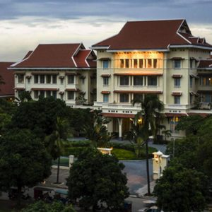 Luxury Cambodia Holiday Packages Raffles Hotel Le Royal Exterior 3