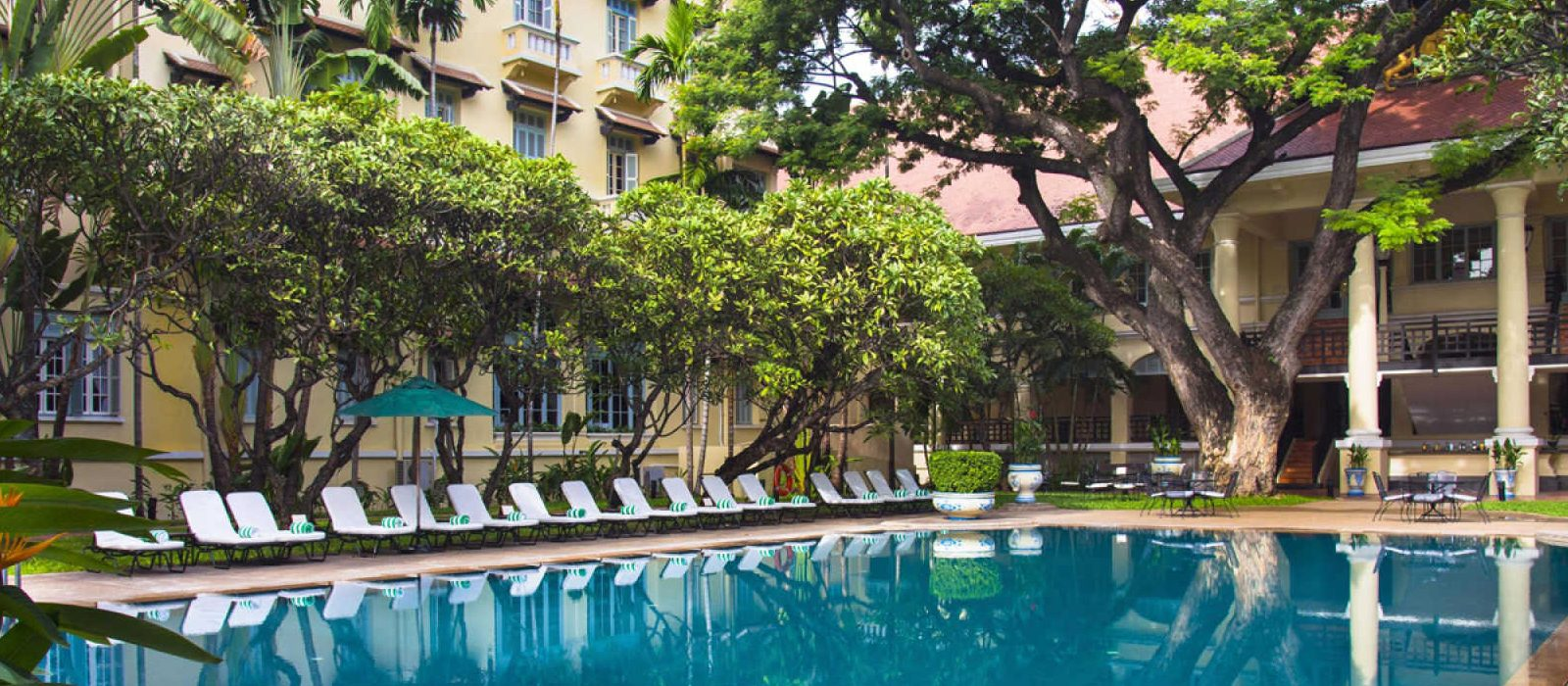 Luxury Cambodia Holiday Packages Raffles Hotel Le Royal Header