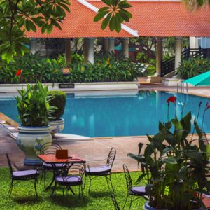 Luxury Cambodia Holiday Packages Raffles Hotel Le Royal Pool 2