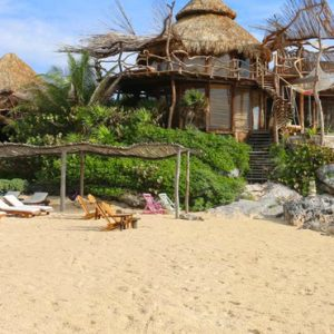 Luxury Mexico Holiday Packages Azulik Resort Mexico Beach