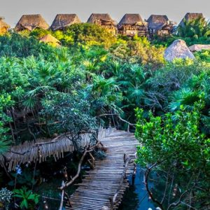 Luxury Mexico Holiday Packages Azulik Resort Mexico Exterior 3