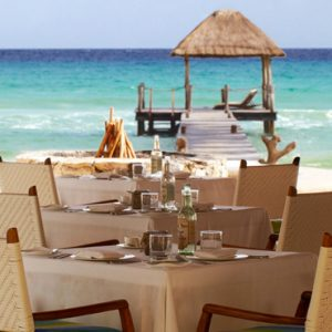 Luxury Mexico Holiday Packages Viceroy Riviera Maya Mexico Dining 3