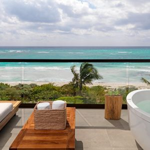 Luxury Mexico Holiday Packages UNICO 2080 Riviera Maya Hotel Alcoba Ocean Front 4